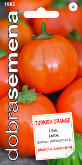 Lilek TURKISH ORANGE   / Dobrá semena